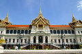 Royal grand palace bangkok thailand the chakri maha prasat throne hall Royalty Free Stock Image