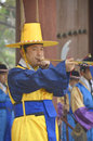 Royal guard changing seoul korea april participant at the deoksugung palace ceremony on april in seoul is a tradition similar to Stock Photos
