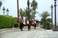Royal guard Morocco Royalty Free Stock Photo