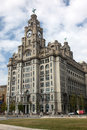 The Royal Liver Building Royalty Free Stock Image