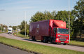 Royal Mail Lorry Royalty Free Stock Photo