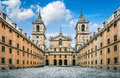 Royal Monastery El Escorial near Madrid, Spain Royalty Free Stock Photo