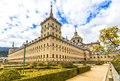 Royal Monastery Escorial (1584) near Madrid, Spain Royalty Free Stock Photo