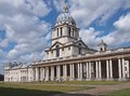 Royal naval college london greenwich Royalty Free Stock Photography