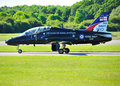 Royal Navy Hawk Jet Stock Photo