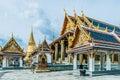 Royal palace bangkok thailand Royalty Free Stock Photo