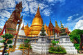 The royal palace in bangkok thailand temple of emerald buddha wat phra kaew Stock Photography