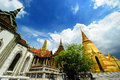 The royal palace in bangkok thailand temple of emerald buddha wat phra kaew Royalty Free Stock Image