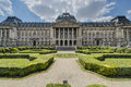 Royal Palace of Brussels in Belgium. Royalty Free Stock Photo