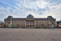 Royal palace in brussels the the center of belgium Royalty Free Stock Photo