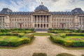 Royal palace in brussels the the center of belgium Royalty Free Stock Images