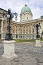Royal Palace, Budapest Royalty Free Stock Photo