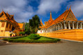 Royal Palace - Cambodia (HDR) Stock Image