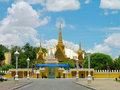 Royal Palace complex, Phnom Penh Stock Photos