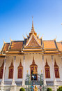 Royal palace dans phnom penh Photographie stock