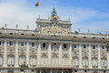 Royal palace de madrid espagne Photographie stock libre de droits