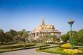 Royal palace en phnom penh Fotografía de archivo libre de regalías