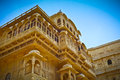 Royal palace jaisalmer fort rajasthan india Royalty Free Stock Photo