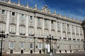 Royal palace in madrid Stock Images