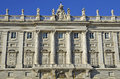 Royal Palace in Madrid. Royalty Free Stock Image
