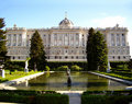 Royal Palace, Madrid, Spain Stock Photography