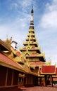 Royal Palace of Mandalay, Myanmar