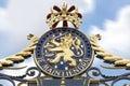 Royal Palace Noordeinde Gate Royalty Free Stock Photo