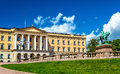 The Royal Palace in Oslo Royalty Free Stock Photo