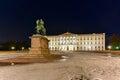 Royal Palace of Oslo Royalty Free Stock Photo
