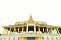 The royal palace park phnom penh cambodia Stock Photography