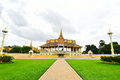 The royal palace park phnom penh cambodia Stock Images