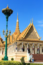 Royal palace of phnom penh Royalty Free Stock Images