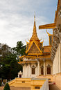 Royal palace in phnom penh cambodia Stock Image