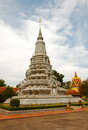 Royal palace in phnom penh cambodia stupa at the Stock Photography