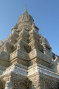 Royal palace phnom penh structure at the in cambodia Royalty Free Stock Photo