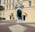 Royal Palace - Principality of Monaco Royalty Free Stock Photography