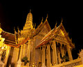 The Royal Pantheon at Wat Phra Kaew in Bangkok Royalty Free Stock Photos