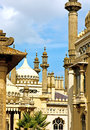 Royal pavilion in brighton scenic view of east sussex england Stock Photos