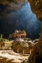 Royal pavilion in the phraya nakhon cave prachuap khiri khan thailand Royalty Free Stock Photos
