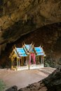 Royal pavilion in the phraya nakhon cave prachuap khiri khan thailand Stock Images
