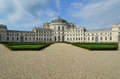 Royal residence of stupinigi apartment house for real hunting at piedmont Stock Photo