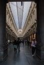 Royal Saint Hubert Galleries, Brussels, Belgium Royalty Free Stock Photo