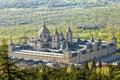 The Royal Seat of San Lorenzo de El Escorial Royalty Free Stock Photo