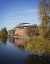 Royal Shakespeare Theatre, England. Royalty Free Stock Photo