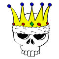 Royal Skull Royalty Free Stock Photos