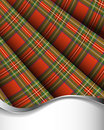 Royal Stewart tartan Royalty Free Stock Image
