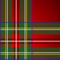 Royal Stewart tartan, pattern Royalty Free Stock Photography