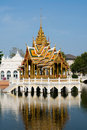 The Royal Summer Palace in Bang Pa In, Thailand Stock Image