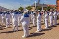 Royal Swedish Navy Cadet Band Royalty Free Stock Photo