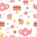 Royal tea party Stock Photography